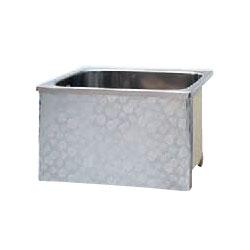 *JFE*KS80-H550 ステンレス浴槽 KSシリーズ 1方全エプロン ストレート据置タイプ[満水200L]