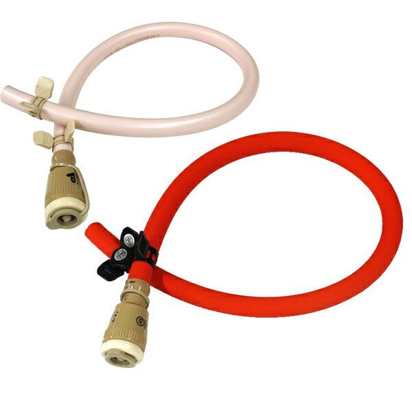 ガス器具用ゴムホース60cm+バンド+ゴム管用ソケットJG200C [ガスコンロ/ガス炊飯器/ガスオーブン等の接続に][コンロA_op] ガスホース