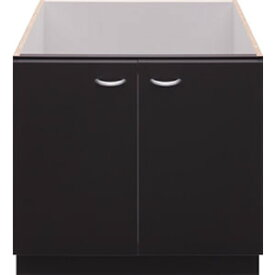パロマ コンロ下専用キャビネット PDC-61B ブラック