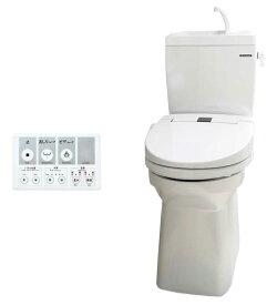 [在庫限り]*タカラスタンダード*温水洗浄便座 ティモニ Bシリーズ リモコン付 手洗付標準タンク 一般地用 床排水 ホワイト