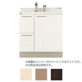 *トクラス*YEAB075EA[A/B]C 洗面化粧台[AFFETTO] ベースキャビネット 間口75cm Lシリーズ【単品販売不可】