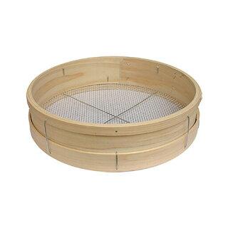 舗装用作業用具木製曲げ輪ふるい径36cm×高さ9cm
