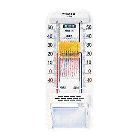 乾湿計 SK式1号 -10~50℃ 佐藤計量器