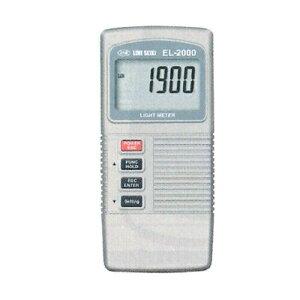 デジタル照度計 EL-2000 0~20000lux EL-2000 ライン精機