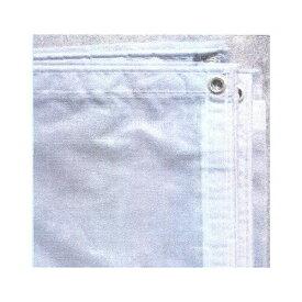 防炎メッシュシート 1.8m×3.4m 1枚 (白/灰)