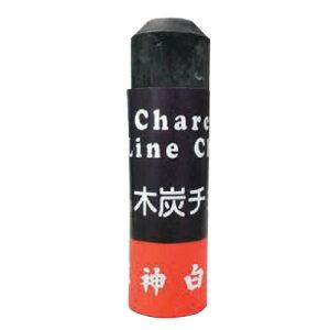 工事用木炭チョーク(12本入)黒 黒/12本入 MC-1 日本白墨工業