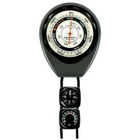 コンパス/サーモ付高度計 高度0~5000m、気圧620~1024hPa 630