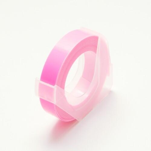 【メール便対象】【DYMO/ダイモ テープ】マシューズ グロッシーテープ つやあり 蛍光ピンク 9mm×3m RM900-KPK