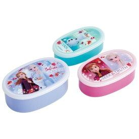 シール容器 3点セット 入れ子式 お弁当箱 アナと雪の女王2 ディズニー キャラクター 保育園 幼稚園 女の子 - メール便不可