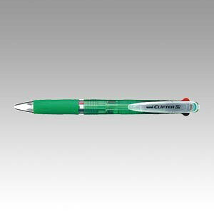 クリフター 2色ボールペン [黒/赤] 0.7mm 透明緑 SE2-254