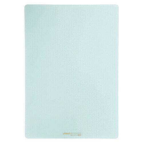 【メール便対象】ソフト下敷き 硬筆用【A4サイズ】NO.1304 薄グリーン
