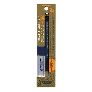 ハイタイド ペンコ 大人の鉛筆 プライムティンバー ブラス 2.0mm B芯 ネイビー