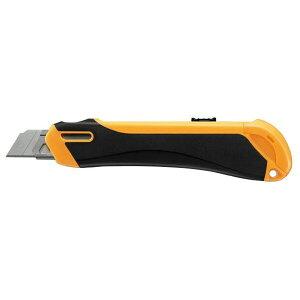 コクヨ 安心構造カッターナイフ「フレーヌ」本体・大型 オレンジ[HA-S200YR] - メール便対象
