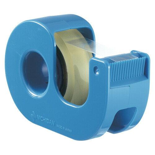 【メール便対象】ニチバン セロテープ小巻カッター付 ブルー CT-12DRB