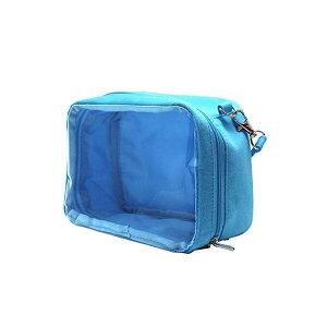 ミニぬいポーチ 痛バッグ Lサイズ ぬい おてだま おまんじゅう ブルー