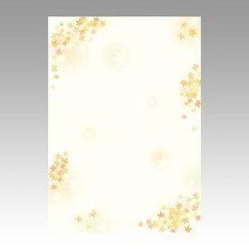 【メール便対象】ササガワ 和柄用紙 和ごころ 枝紅葉 4-1022