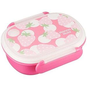 キッズ ランチボックス いちご Hanna Hula ハンナフラ 弁当箱 日本製 電子レンジOK 食洗機OK 子供 - メール便不可