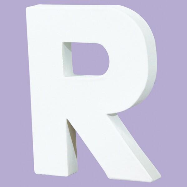 デコパッチ ペーパーマッシュ アルファベットS R【メール便不可】