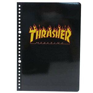 ノート 文具 雑貨 大容量 文房具 おしゃれ 学校 社会人 THRASHER スラッシャー ルーズリーフ B5 Flame - メール便対象