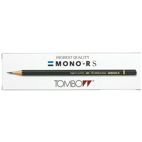 【メール便対象】トンボ鉛筆 鉛筆モノR 2B 紙箱 MONO-RS2B