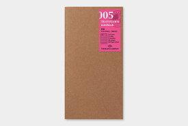 【TRAVELER'S notebook】トラベラーズノート リフィル レギュラーサイズ 005 日記 - メール便対象