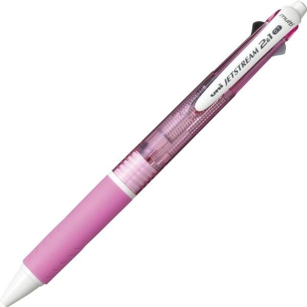 【メール便対象】三菱鉛筆 ジェットストリーム多機能ペン ピンク MSXE350007.13