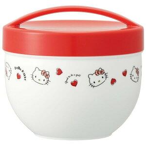 カフェ丼ランチボックス 弁当箱 丼もの パスタ 麺類 ハローキティ レッドハート サンリオ キャラクター 女の子 - メール便不可
