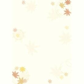 【メール便対象】ササガワ 和柄用紙 和ごころ 紅葉 4-1003