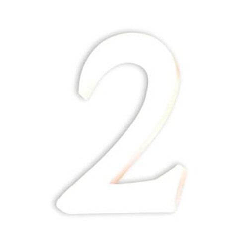 デコパッチ ペーパーマッシュ 数字S 2【メール便不可】
