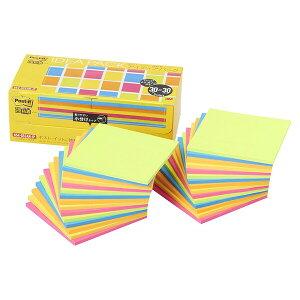 スリーエム ポストイット 強粘着ノート アイディアパック 5色(各30枚)×6パッド 654-5SSAN-IP ... 付箋 ふせん 紙 会議 ミーティング - メール便不可