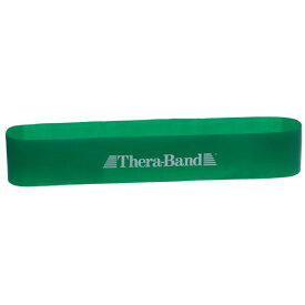 セラバンド THERABAND トレーニングチューブ ループタイプ ヘビー グリーン エクササイズバンド ディーアンドエム - メール便不可
