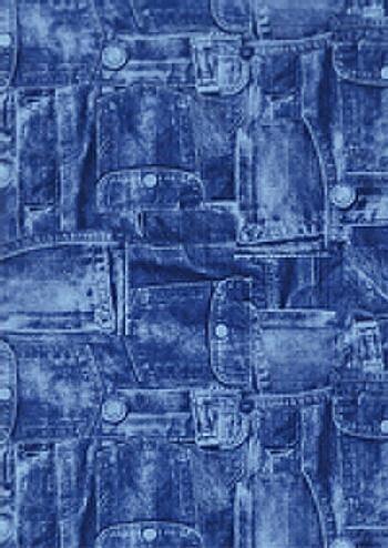 【メール便対象】【デコパージュ用品】デコパッチペーパー ブルージーンズ dp-fd381c