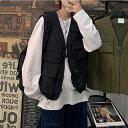 韓国 ファッション メンズ フィッシュングベスト おしゃれ ベスト メンズ フェス 釣り アウトドア ミリタリーベスト …