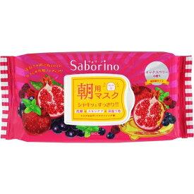 Saborino サボリーノ目ざまシート 完熟果実の高保湿タイプ 28枚入り
