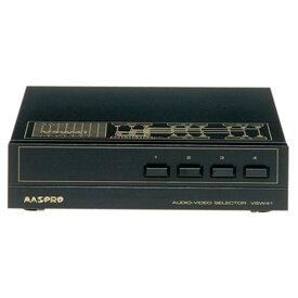 マスプロ MASPRO AVセレクター コンポジット 4入力・1出力 VSW41