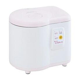 MK エムケー精工 餅つき機 家庭用 ホワイト×ピンク ミニもっち RM-05MN