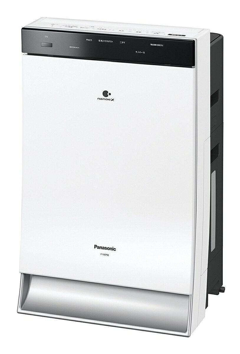 パナソニック Panasonic 加湿空気清浄機 40畳 ホワイト F-VXP90-W