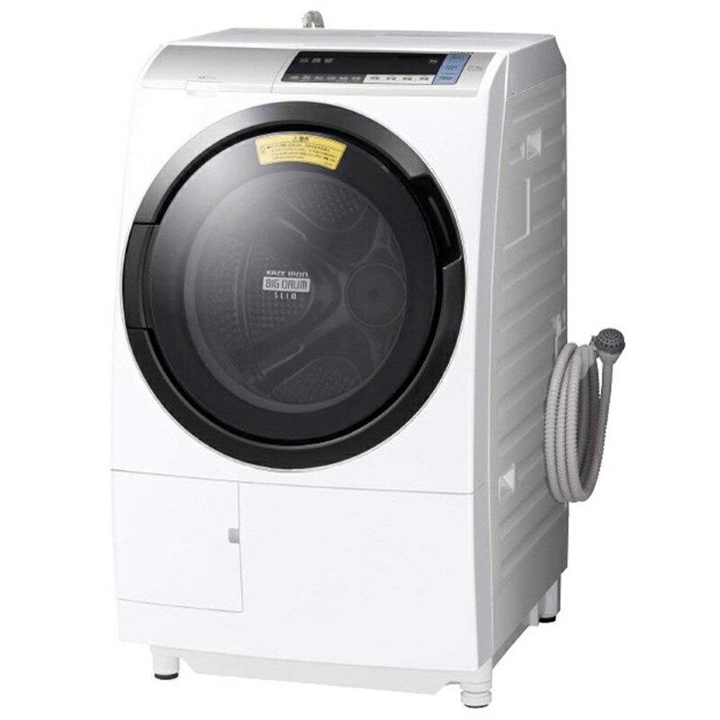 日立 HITACHI ドラム式洗濯乾燥機 ビッグドラム 左開き シルバー BD-SV110BL S