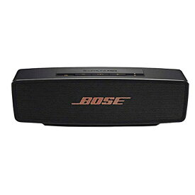 【キャッシュレス5%還元店】Bose SoundLink Mini Bluetooth Speaker II Limited Edition ブラック/カッパー