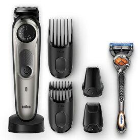ブラウン Braun ビアードトリマー 髭剃り スタイラー 電動バリカン ブラック/グレー BT7040