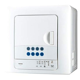 【キャッシュレス5%還元店】東芝 TOSHIBA 6kg 衣類乾燥機 ピュアホワイト ED-608-W
