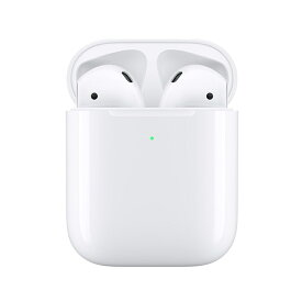 アップル Apple AirPods with Wireless Charging Case イヤホン ワイヤレス ホワイト MRXJ2J/A