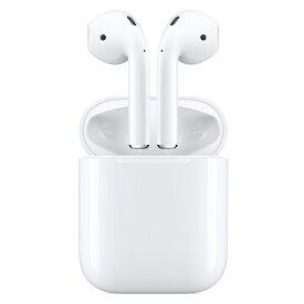 【10/20はエントリー&楽天カード決済でポイント7倍】アップル Apple AirPods with Charging Case イヤホン ワイヤレス ホワイト MV7N2J/A