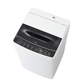 【11月15日24時間限定!5のつく日のエントリー&楽天カード決済でポイント7倍】【キャッシュレス5%還元店】ハイアール haier 5.5kg 全自動洗濯機 一人暮らし ブラック JW-C55D-K