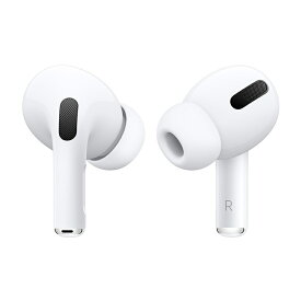 【10/20はエントリー&楽天カード決済でポイント7倍】アップル Apple AirPods Pro ワイヤレスイヤホン ノイズキャンセリング対応 MWP22J-A