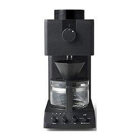 ツインバード TWINBIRD 全自動コーヒーメーカー ブラック CM-D457B