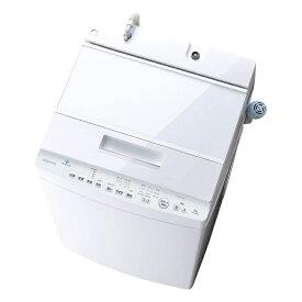 東芝 TOSHIBA 全自動洗濯機 ZABOON 8 kg グランホワイト AW-8D9-W