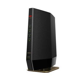 【5/10はエントリー&楽天カード決済でポイント7倍】バッファロー BUFFALO 11ax(Wi-Fi6)対応 無線LANルータ 親機(4803+573mbps) マットブラック WSR-5400AX6-MB