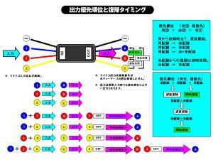シーケンシャルLEDテープにデイライトウイポジ制御に小型多機能キャンセラーリレーユニットTypeIII2個遅延復帰/即時復帰機能付ウインカーリレー&キャンセラー機能一体型ゆうパケットなら送料無料2018Dec