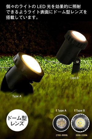 11/28頃入荷予約LEDソーラーライト屋外充電式スポットライトガーデンライトLED【2017Ver.温暖色2灯】LEDイルミネーションガーデンライトソーラー光センサー内蔵で自動ON/OFF特大ソーラーパネルで持続時間UPソーラーイルミネーションソーラースポット